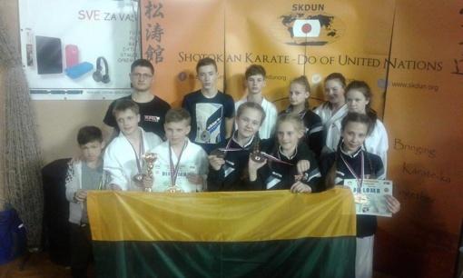 """""""Rytų Kovotojo"""" sportininkų sėkmė Europos čempionate"""