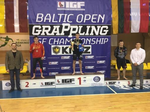 Baltijos šalių čempionato sidabras