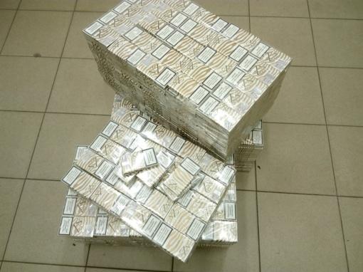 Rusas į Lietuvą gabeno nelegalių rūkalų už 7 tūkst. eurų