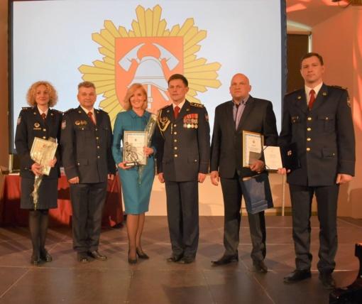 Savivaldybės rūpestis žmonių saugumu įvertintas garbingu apdovanojimu
