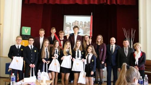 Rajono moksleiviai varžėsi užsienio kalbų konkurse