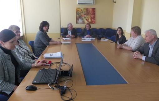 Bendruomenės sveikatos taryba svarstė aktualias rajono sveikatos problemas