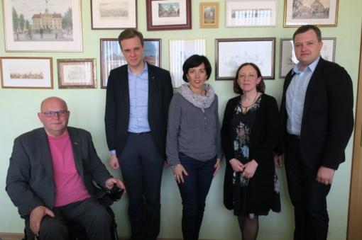 Joniškis sulaukė G. Landsbergio vizito