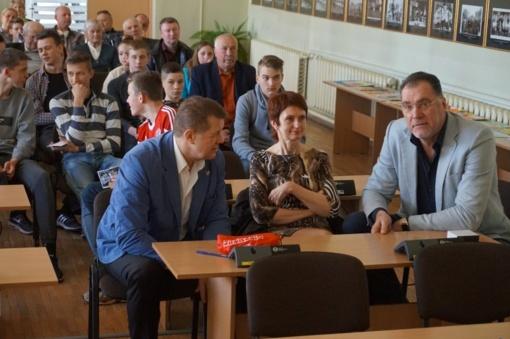 Jubiliejinės Lietuvos krepšinio datos Joniškyje paminėtos įspūdingu renginiu