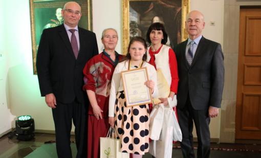 Kučiūnų mokyklos mokinei – sidabro diplomas