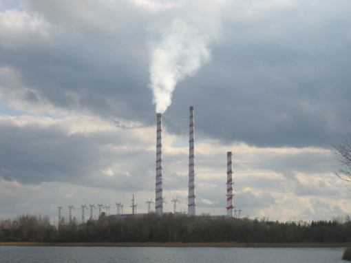 Atšalus orams įjungtas Elektrėnų kombinuoto ciklo blokas