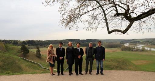 Širvintose  viešėjo Japonijos ambasadorius