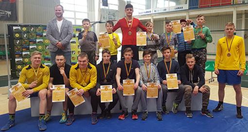 Tarptautiniame imtynių turnyre – radviliškiečių pergalės