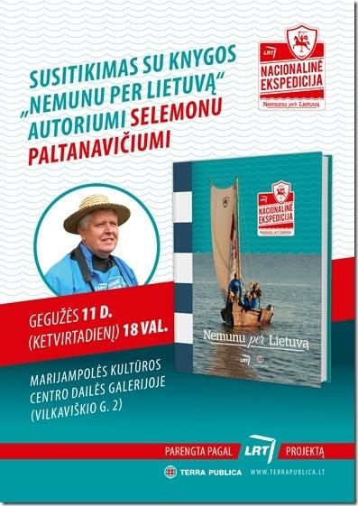 """Knygos """"Nemunu per Lietuvą"""" pristatyme - autorius ir sudarytojas Selemonas Paltanavičius"""