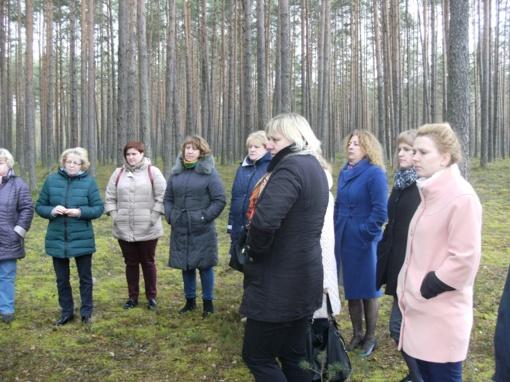Įvyko rajono istorijos mokytojų seminaras - ekskursija