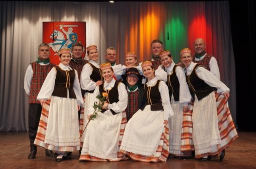 Vyresniųjų liaudiškų šokių grupė TONCIUS