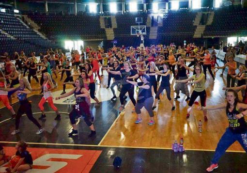 Šiauliuose– nemokami sporto užsiėmimai ir šokio fiesta