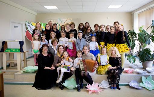 """Kuršėnų meno mokykloje vyko konkursas """"Mūsų mažieji talentai"""""""