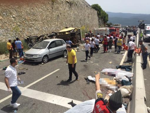 Turkijoje eismo nelaimės aukomis tapo 17 žmonių