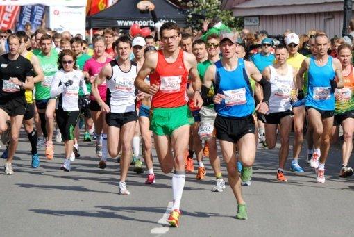 Trakų pusmaratonį laimėjo baltarusis J. Kapcerovas ir D. Lobačevskė
