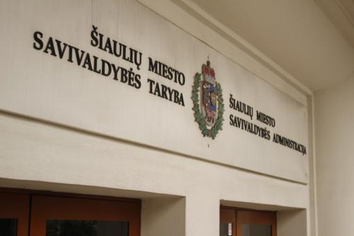 Šiaulių miesto savivaldybės taryboje – nauja koalicija?