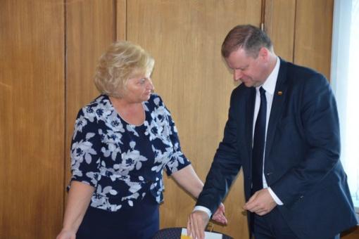 Premjeras su savivaldybės vadovais aptarė vietos aktualijas