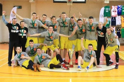 Tauragės krepšinio klubas - 2017 metų RKL čempionai!