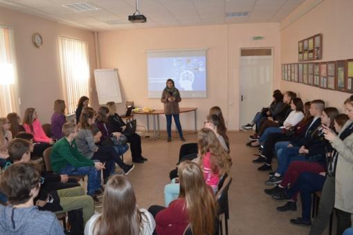 Jaunimas mokėsi bendrauti ir bendradarbiauti bei efektyviau komunikuoti