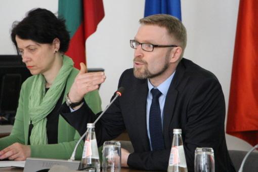 Pasvalyje viešėjo Lietuvos Respublikos socialinės apsaugos ir darbo ministras