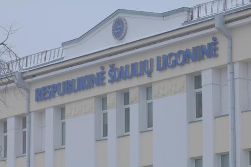 Apvogta Šiaulių ligoninė patyrė nemenkus nuostolius