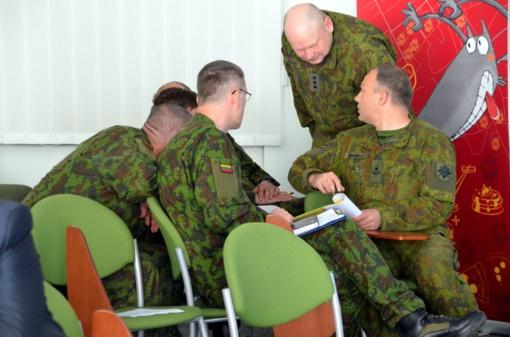 Stalo pratybos - puikus būdas įvertinti pasirengimą mobilizacijai