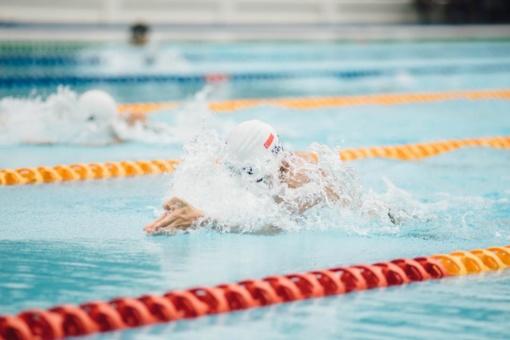 Plaukimo čempionate – dešimt medalių ir meistro vardas