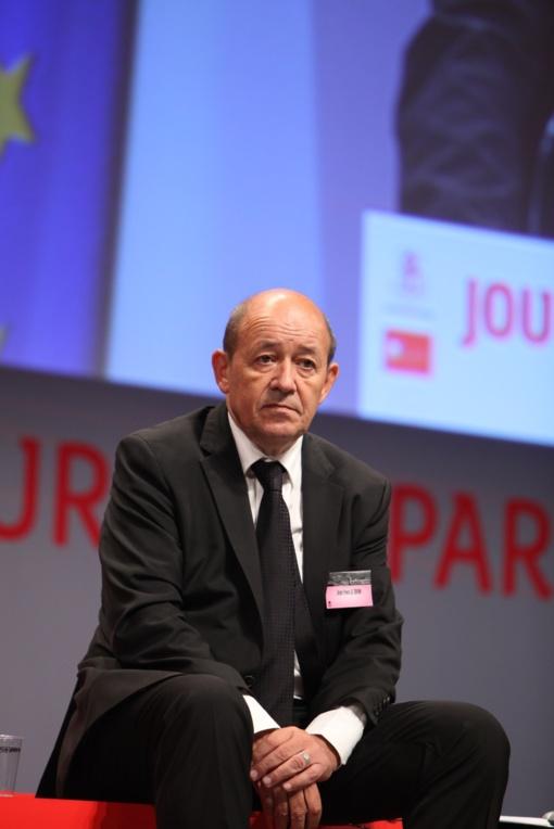 Prancūzijos užsienio reikalų ministru paskirtas Ž. Y. Le Drianas