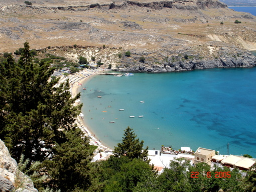 Turistų pamėgtoje Graikijos Rodo saloje drebėjo žemė
