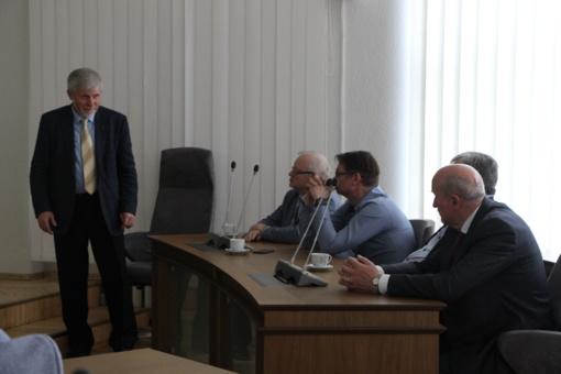 Panevėžio prekybos, pramonės ir amatų rūmų tarybos nariai lankėsi Pasvalio rajone