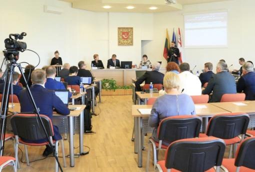 Kokius sprendimus priėmė Tauragės rajono savivaldybės taryba?