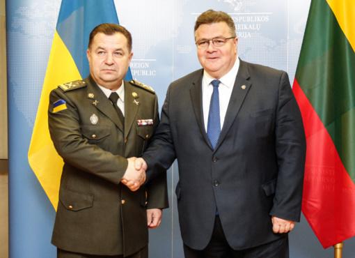 Lietuvoje lankosi Ukrainos gynybos ministras