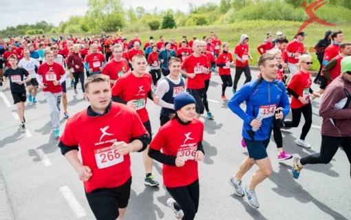"""Klaipėdoje vyks paramos akcija """"Vilties bėgimas - Maratonas 2017"""""""