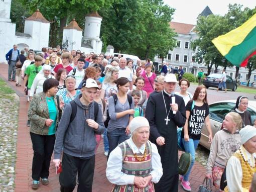 Piligrimų kelio žygeiviams – Vyskupo palaiminimas