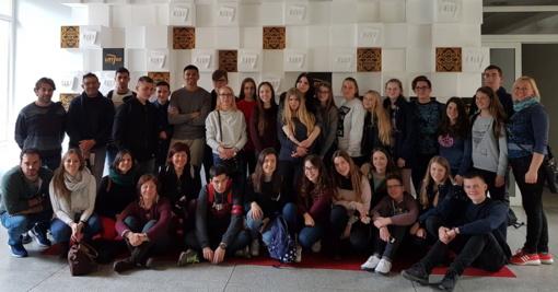 """Projekto """"Europos garsas – mes kuriame radiją"""" dalyvių susitikimas Lazdijuose"""