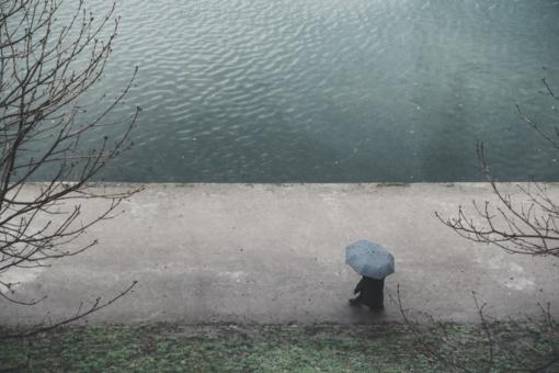 Orai:  tiek tos žiemos – bus šilčiau, plūstels krituliai