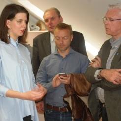 Anykščiuose lankėsi Šiaurės šalių kultūros institutų vadovai