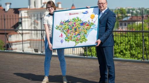 Gimtadienį pasitinkantis Kaunas miestiečiams paruošė išskirtinę dovaną