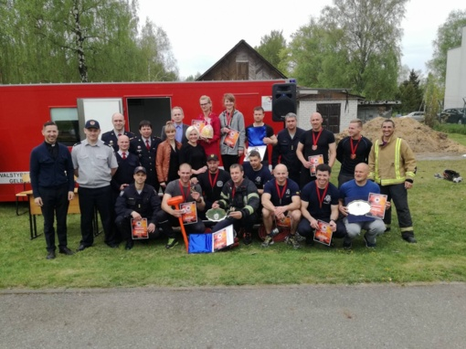 Išaiškinti stipriausi Šiaulių apskrities ugniagesiai gelbėtojai