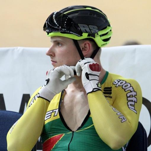 Lietuvos treko dviratininkai Minske pelnė bronzą