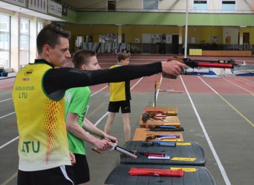 Penkiakovininkas G. Gudlevičius triumfavo jaunimo varžybose Čekijoje
