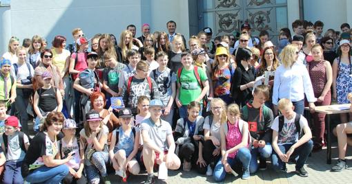 Šv. Jokūbo kelio jaunųjų ambasadorių žygiai - ir Šiauliuose