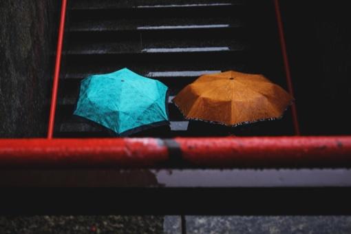 Po šilto ir sauso savaitgalio - lietus visoje šalyje