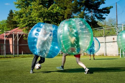"""""""Mes norim dar!"""", – sako """"Burbulinio"""" futbolo turnyro dalyviai"""