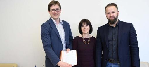 Pasirašyta Trakų meno mokyklos rekonstravimo rangos darbų sutartis