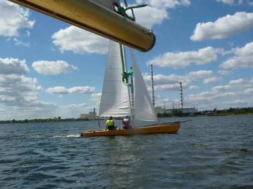 Olimpinėse jachtų klasėse lietuviai lenkė kitas Baltijos valstybes