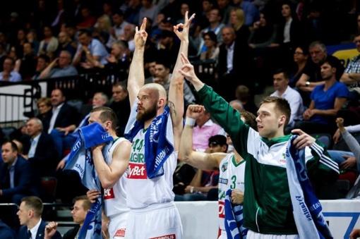 """""""Žalgiris"""" iškovojo pergalę Klaipėdoje ir pateko į LKL finalą"""