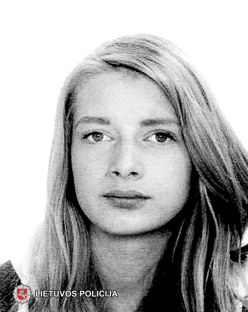 Ieškoma dingusi be žinios nepilnametė Vilinta Uznytė