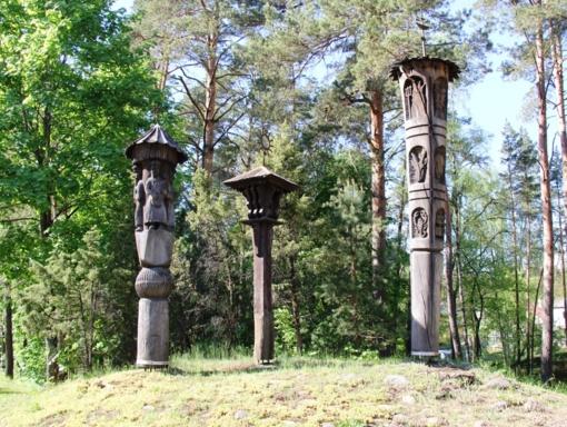 Aptartos M. K. Čiurlionio kelio skulptūrų atnaujinimo galimybės