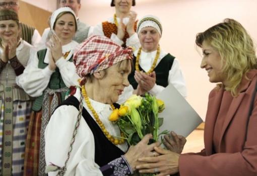 Garbės ženklas - pedagogei Daivai Kubiliūtei-Čičinskienei